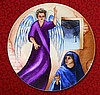 "Mary and the Angel 7.5"" Plate"
