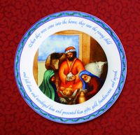 "Wise Men 10.5"" Plate"